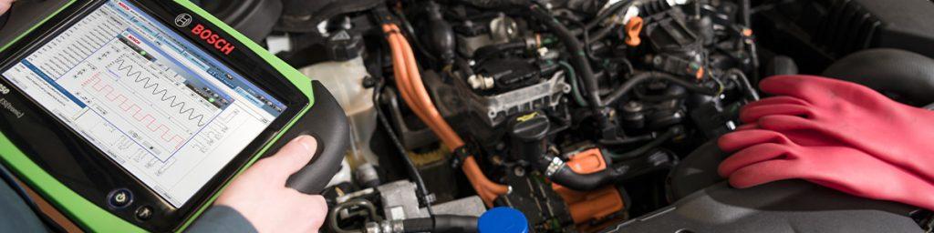 Diagnose service bij Bosch Car Service Nieuwkoop