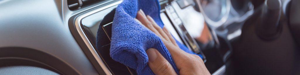 Auto interieur hygiënisch en schoon