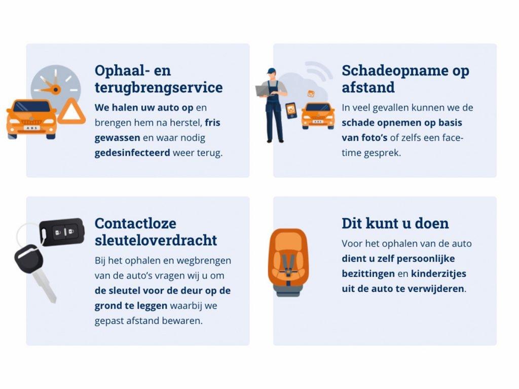 Ook nu staan ABS Autoherstel Brouwer Lisse, ABS Autoherstel Brouwer Noordwijk en ABS Autoherstel van der Weijden Nieuwkoop voor u klaar!